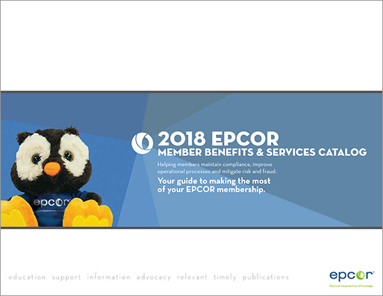 2018 EPCOR Member Services Catalog
