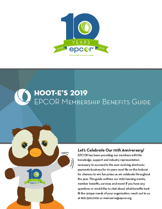 Hoot-E's 2019 EPCOR Membership Benifits Guide