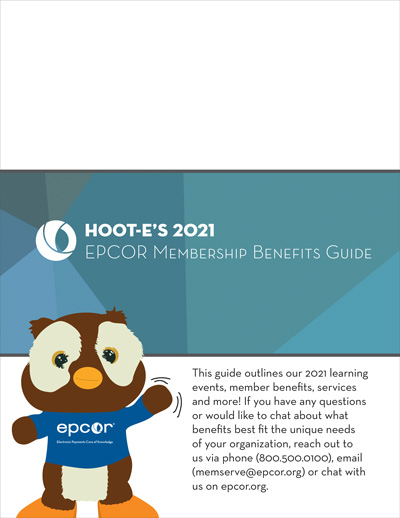 Hoot-E's 2021 EPCOR Membership Benifits Guide