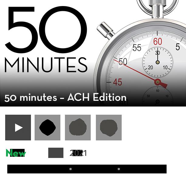 50 Minutes - ACH Edition Season 2 Show