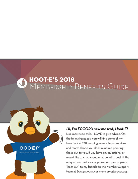 2018 EPCOR Member Benifits Guide