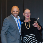 Confernce Gallery - Marquis Award Winner with CEO