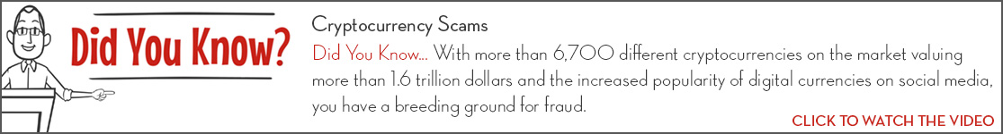 EPCOR Did You Know video series, Cryptocurrency Scams
