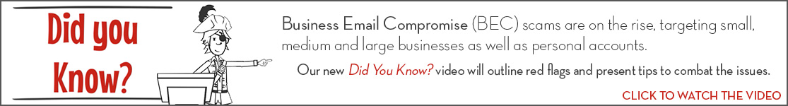 EPCOR Did You Know video series, Business Email Compromise (BEC)