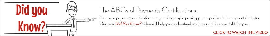 EPCOR Did You Know video series, The ABCs of Payments Certifications