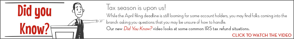 EPCOR Did You Know video series, Tax Season is upon us!