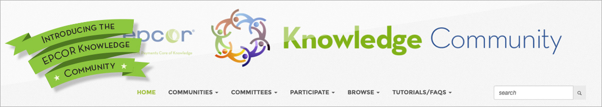 Introducing the EPCOR Knowledge Community