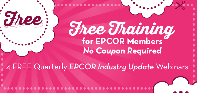 FREE Training for EPCOR Members! No Coupon Required