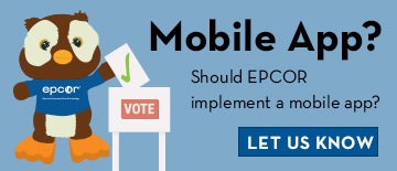 Do you think epcor should consider implementing a mobile app? Let us know.