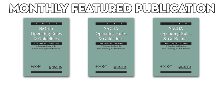 Pick up copies of this month's Featured Publications