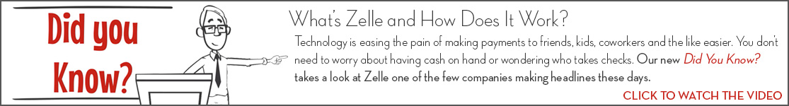 EPCOR Did You Know video series, What's Zelle and How Does It Work?